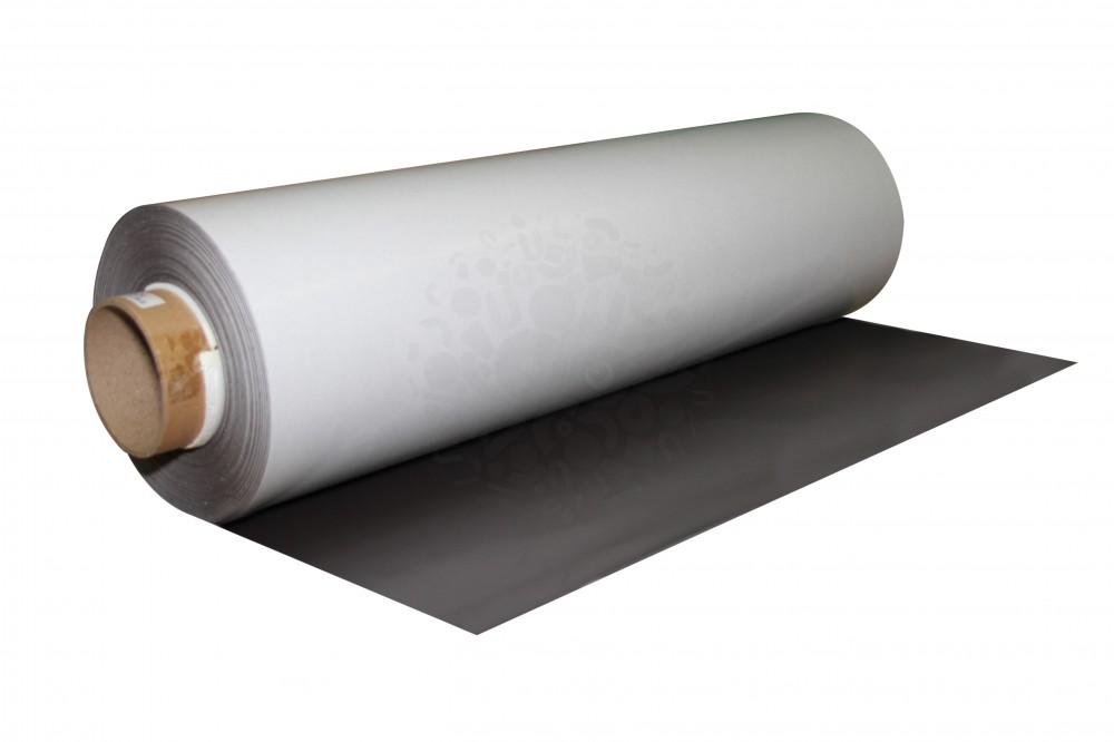 Магнитный винил с клеевым слоем, рулон 0.62х30 м, толщина 0.4 мм в Балашихе