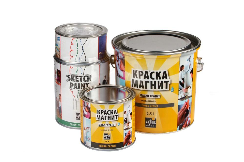 Набор красок Magpaint для магнитно-маркерной стены, матовая, 6 м² в Белгороде