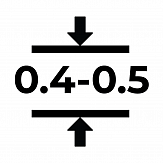 Магнитный винил толщиной 0.4-0.5 мм