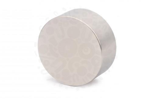 Неодимовый магнит диск 55х25 мм в Самаре