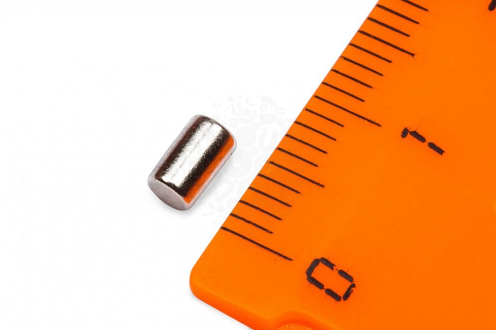 Неодимовый магнит пруток 3х5 мм в Краснодаре