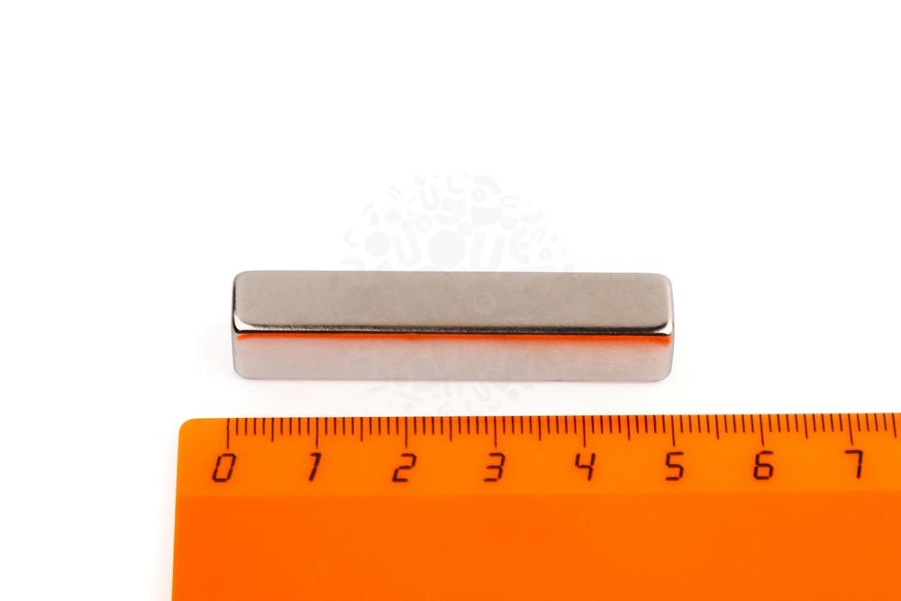 Неодимовый магнит прямоугольник 50х10х9 мм в Перми
