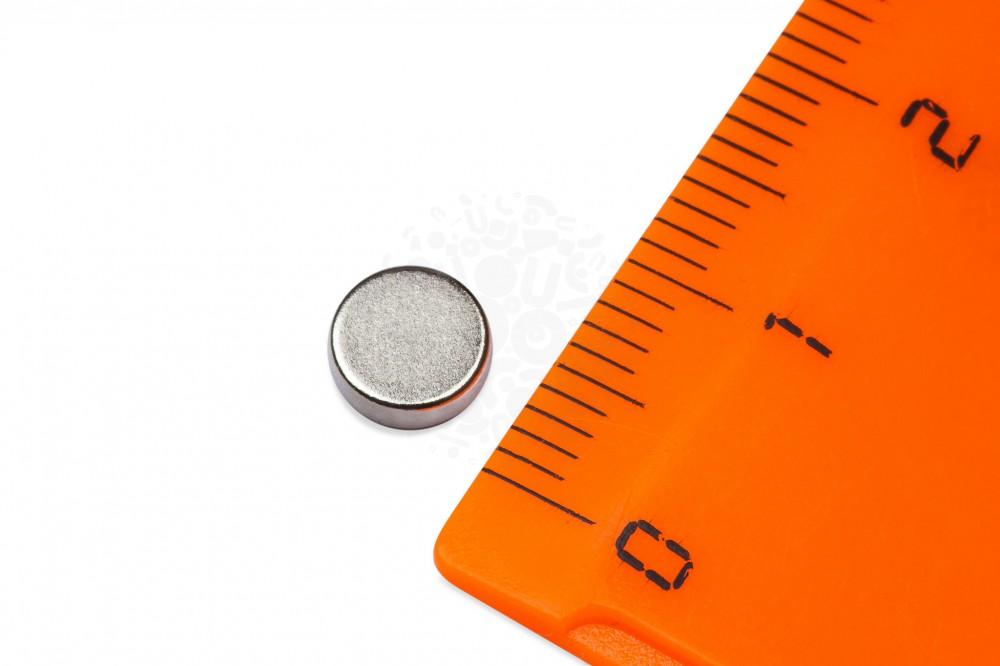 Неодимовый магнит диск 6х2 мм в Казани