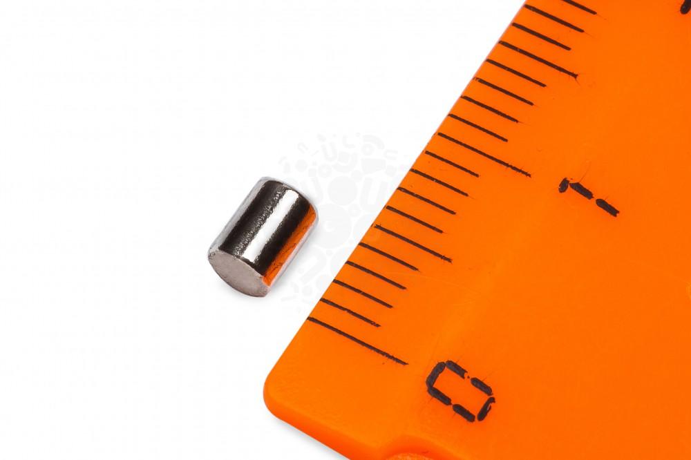 Неодимовый магнит пруток 3х4 мм в Краснодаре