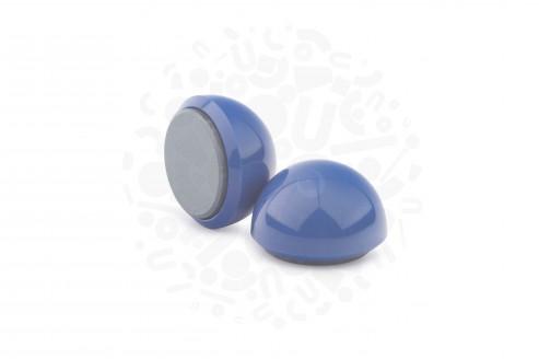 Магнит для досок круглый, D30(синий) в Уфе