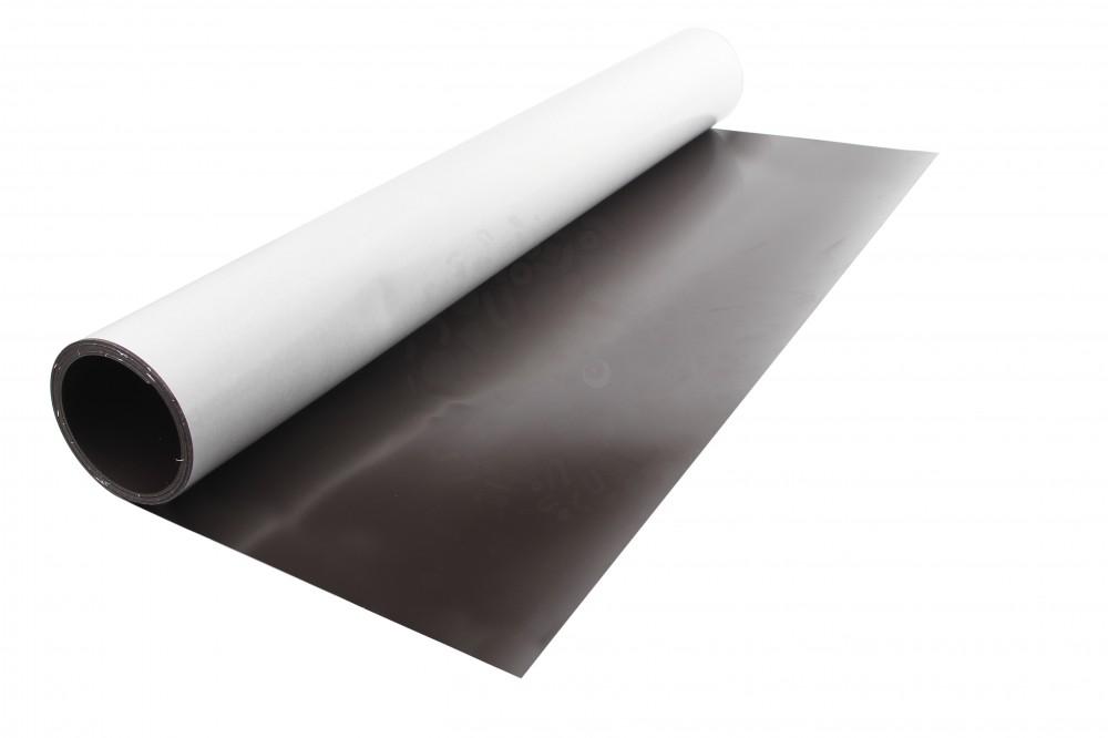 Магнитный винил с клеевым слоем, лист 0.62х1 м, толщина 1.5 мм в Воронеже