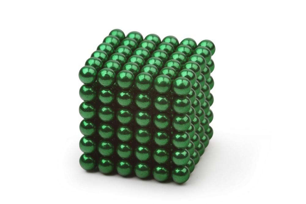 Forceberg Cube - куб из магнитных шариков 5 мм, зеленый, 216 элементов в Москве