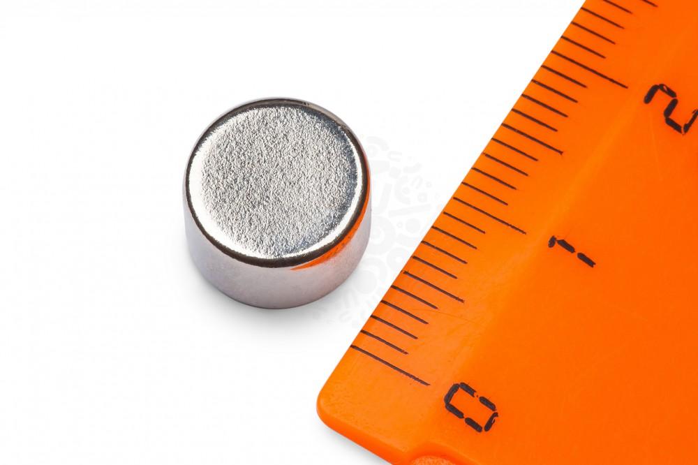 Неодимовый магнит диск 10х6 мм в Краснодаре