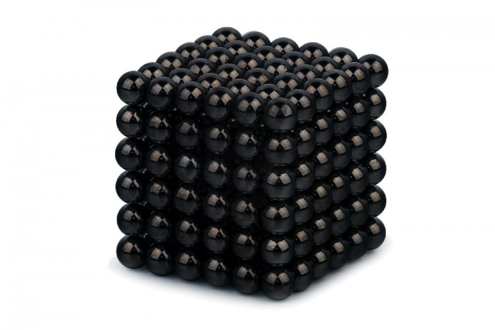 Forceberg Cube - куб из магнитных шариков 6 мм, черный, 216 элементов в Астрахани