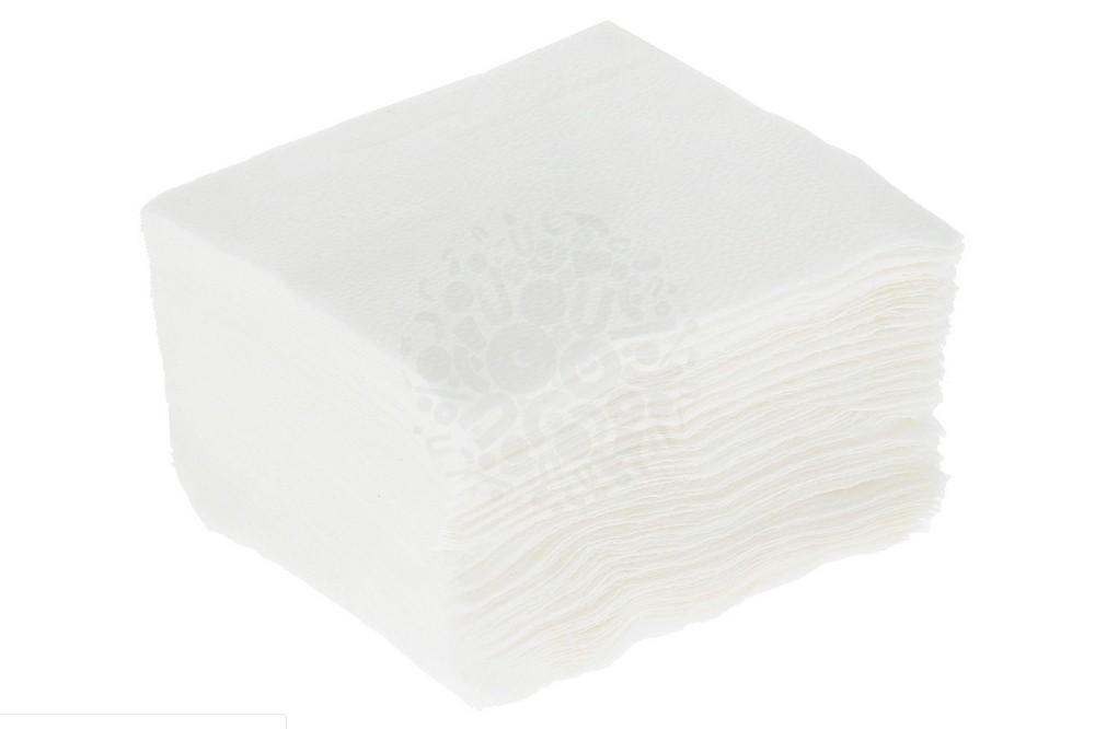 Салфетки бумажные белые, 100 шт в Саратове