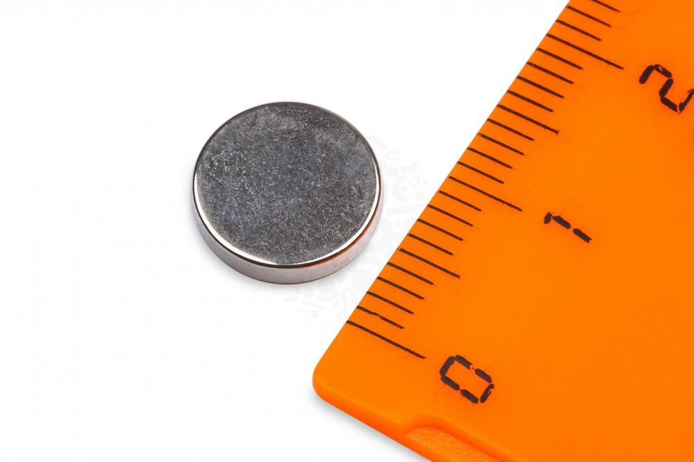 Неодимовый магнит диск 10х2 мм в Краснодаре