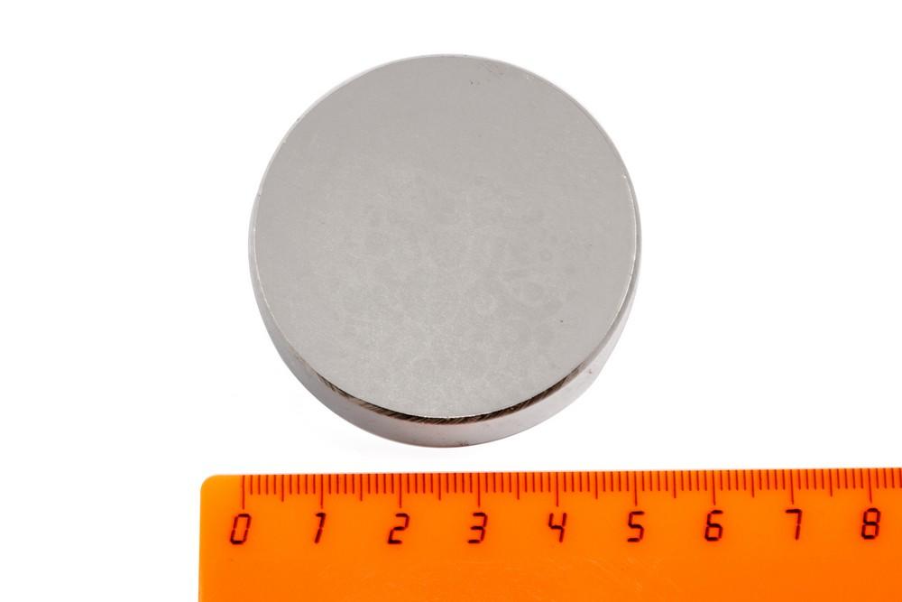 Неодимовый магнит диск 50х12 мм в Москве