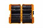 Набор бит для ударного шуруповерта с магнитным держателем бит в кейсе, 42 предмета