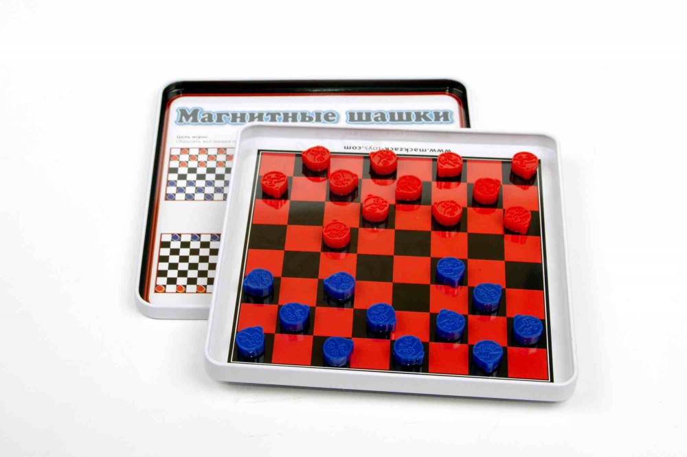 Магнитная игра Шашки MACK ZACK в Новосибирске