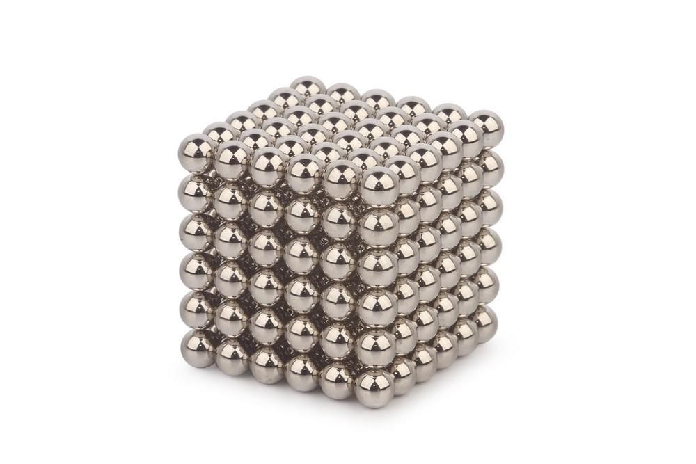 Forceberg Cube - куб из магнитных шариков 5 мм, стальной, 216 элементов в Волгограде