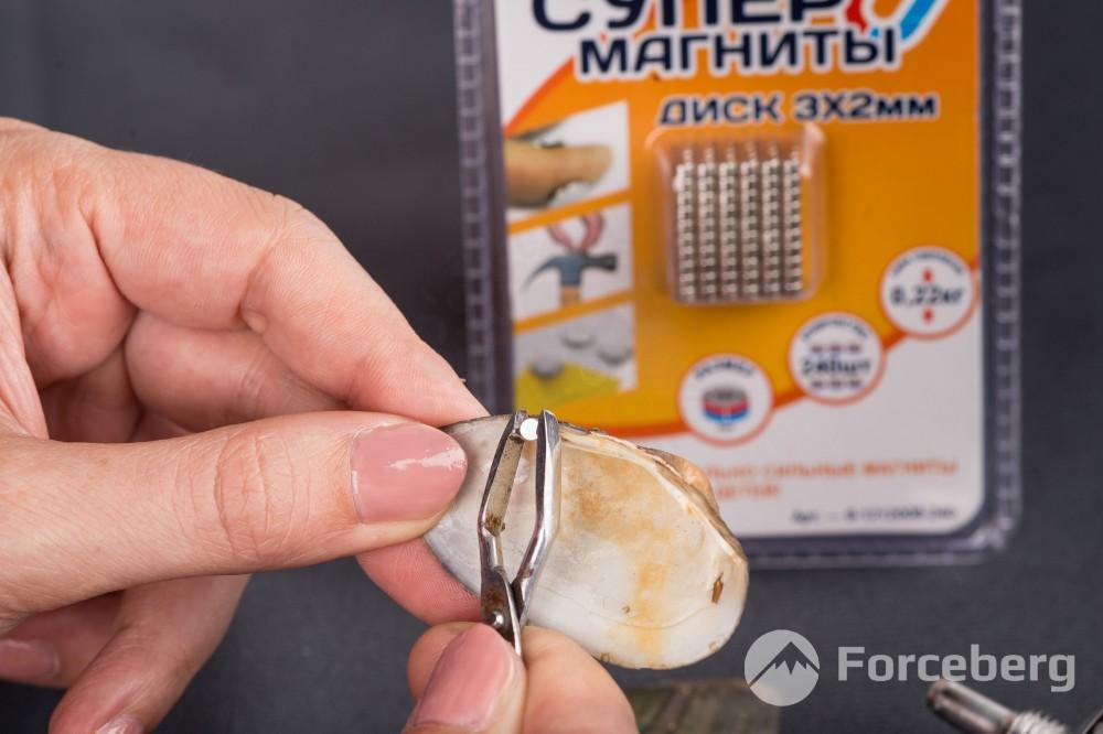 Неодимовый магнит - диск 3х2мм, 240шт, Forceberg