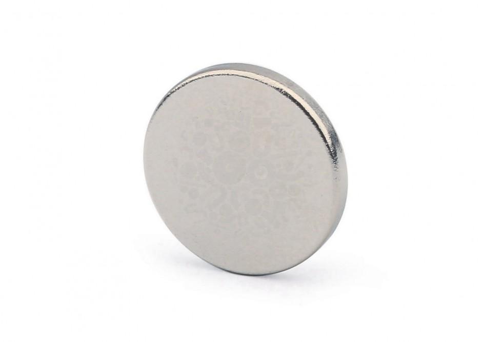Неодимовый магнит диск 15х2 мм в Чебоксарах