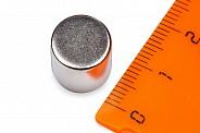 Неодимовый магнит диск 12х10 мм