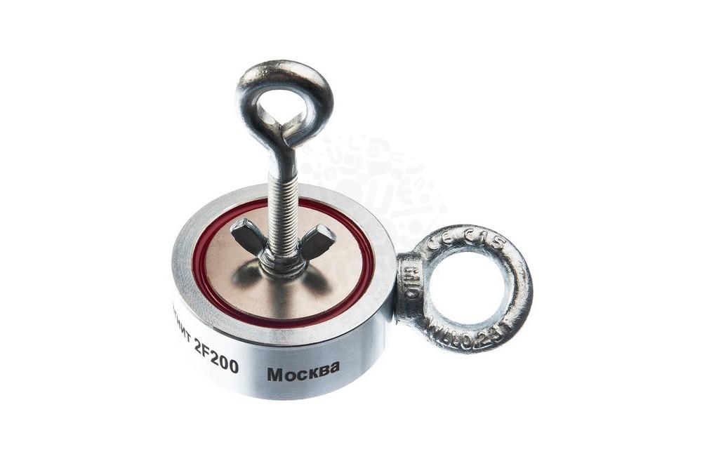 Поисковый магнит двухсторонний Непра F200х2, сила сц. 200 кг в Астрахани