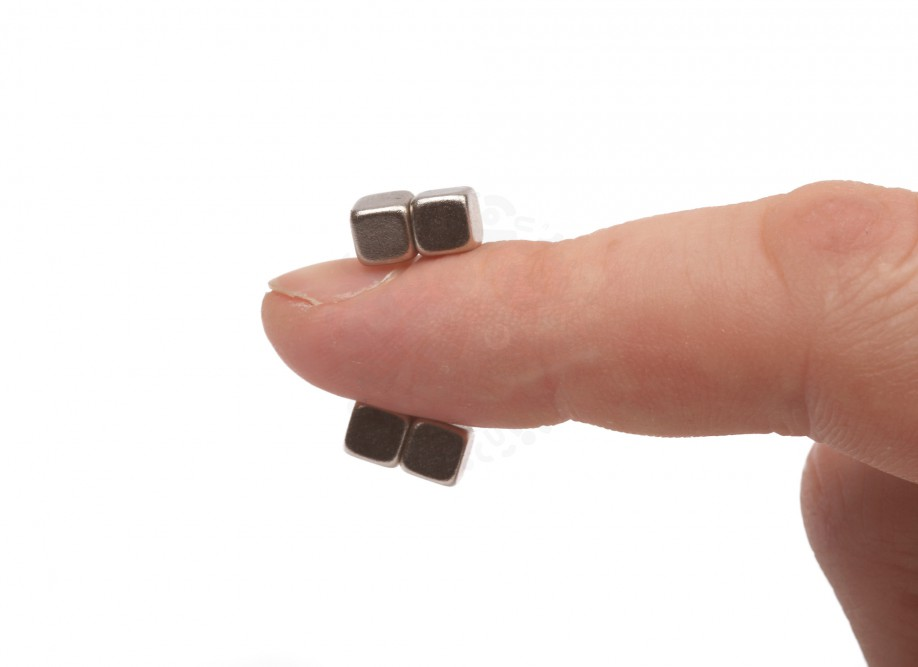 Неодимовый магнит - прямоугольник 5х5х5мм, 30шт, Forceberg