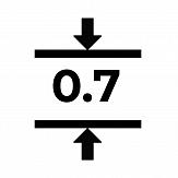 Магнитный винил толщиной 0.7 мм