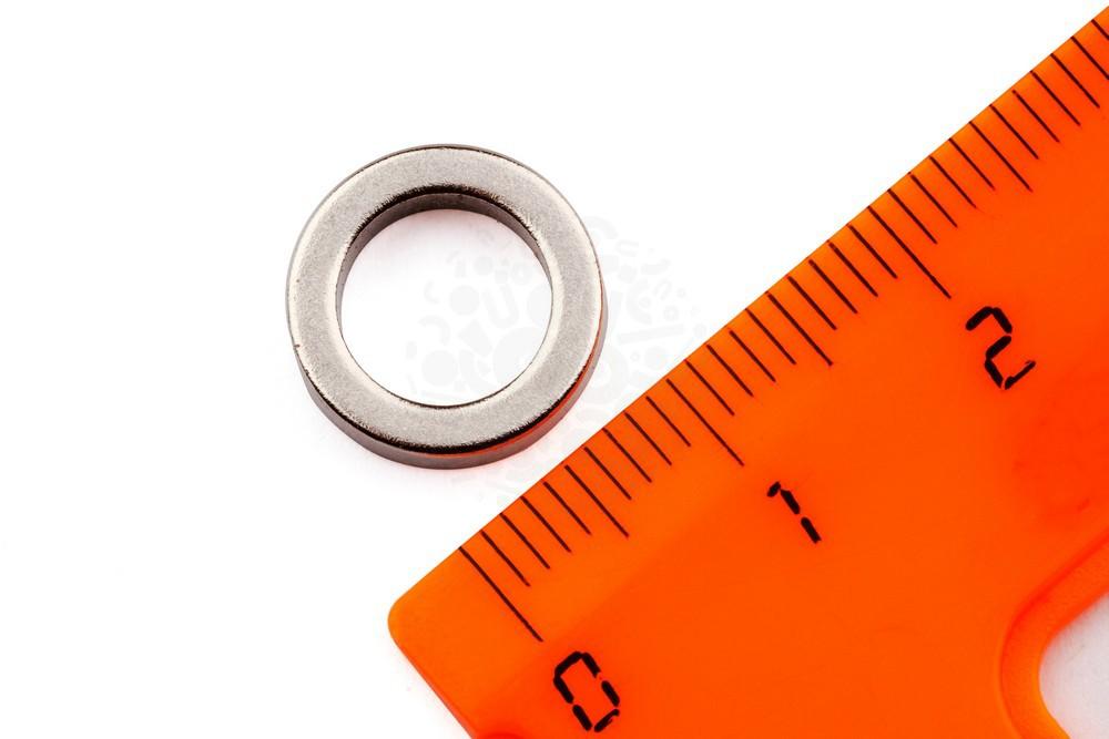Неодимовый магнит кольцо 12х8х3 мм, N35 в Вологде