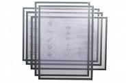 Магнитная слайд-рамка А3 матовая, серая (5 шт)