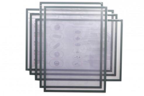 Магнитная слайд-рамка А3 матовая, серая, 5 шт в Уфе