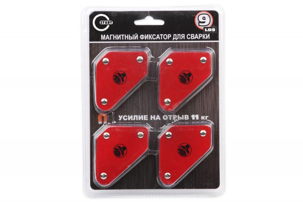 Набор магнитных фиксаторов для сварки (4 шт) в Москве
