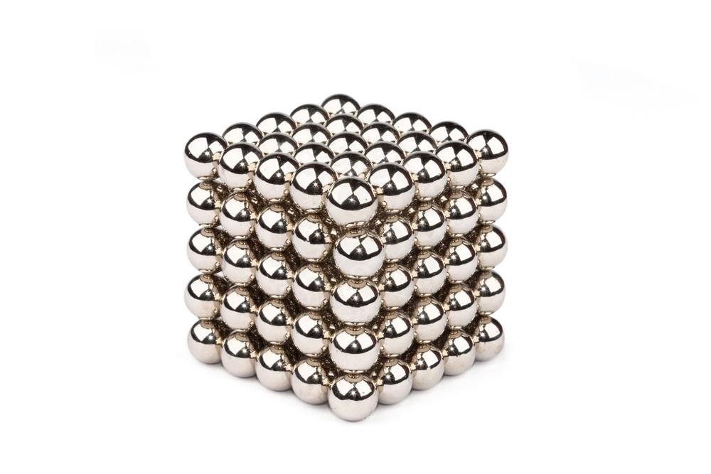 Forceberg Cube - Куб из магнитных шариков 10 мм, стальной, 125 элементов в Казани