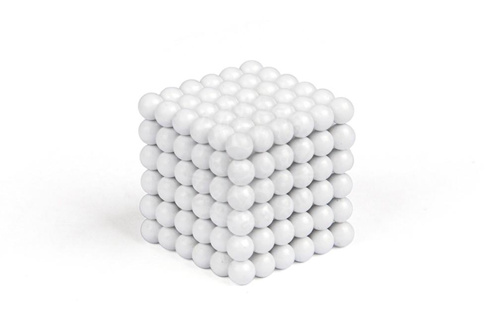 Forceberg Cube - куб из магнитных шариков 5 мм, белый, 216 элементов в Казани
