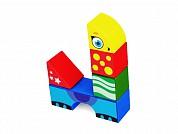 Магнитные детские кубики Magneticus 8 элементов Животные