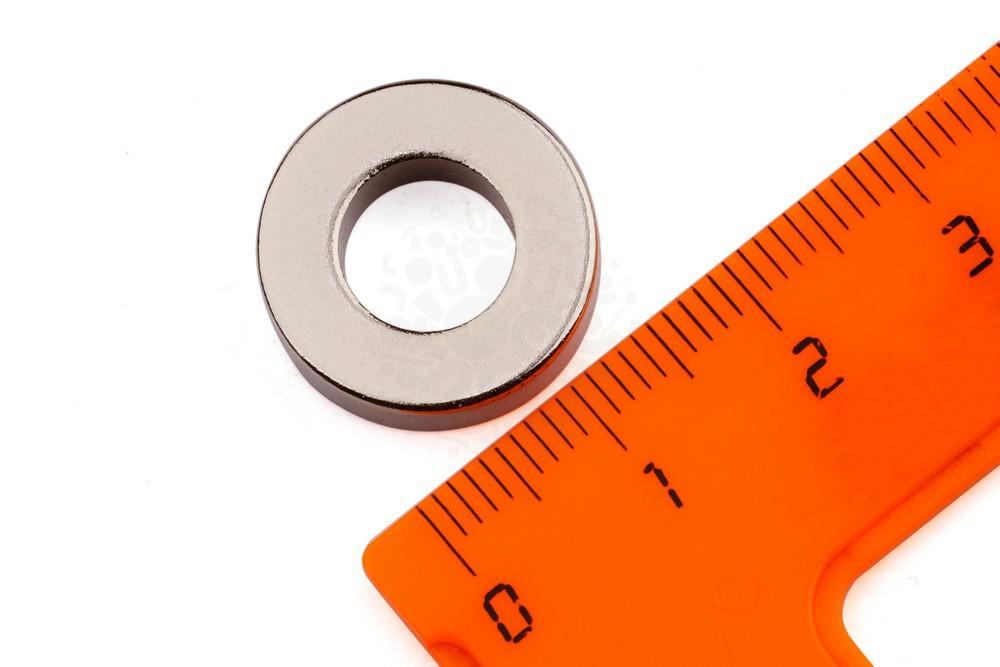 Неодимовый магнит кольцо 17.6х9х5 мм, N35M в Ставрополе