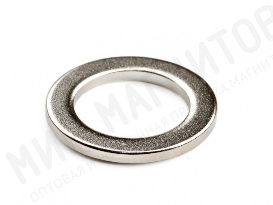 Неодимовый магнит кольцо 14х10х1,25 мм в Новосибирске