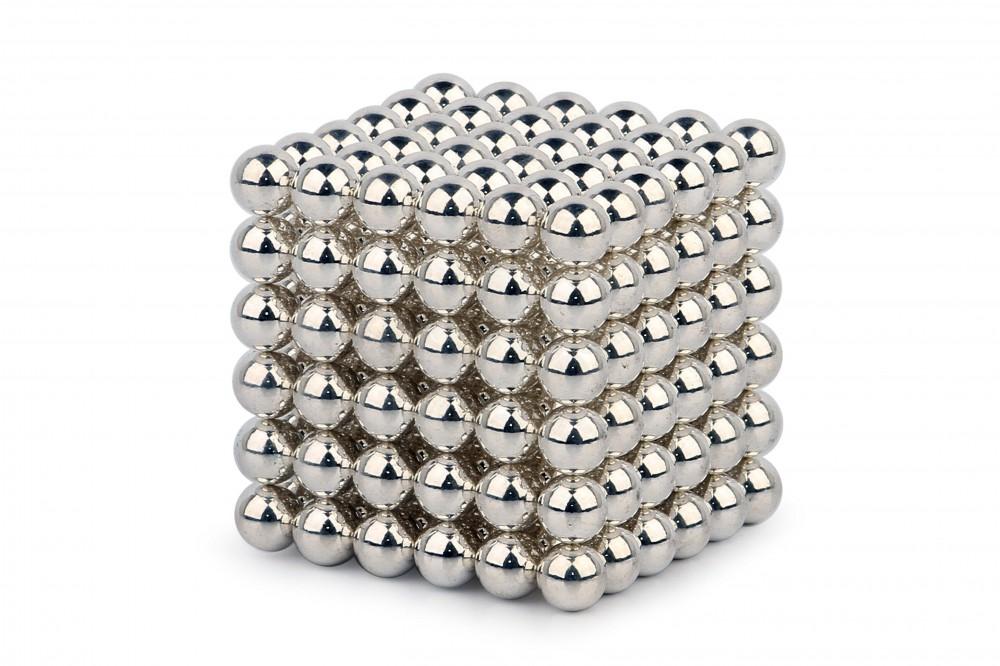 Forceberg Cube - куб из магнитных шариков 5 мм, жемчужный, 216 элементов в Казани