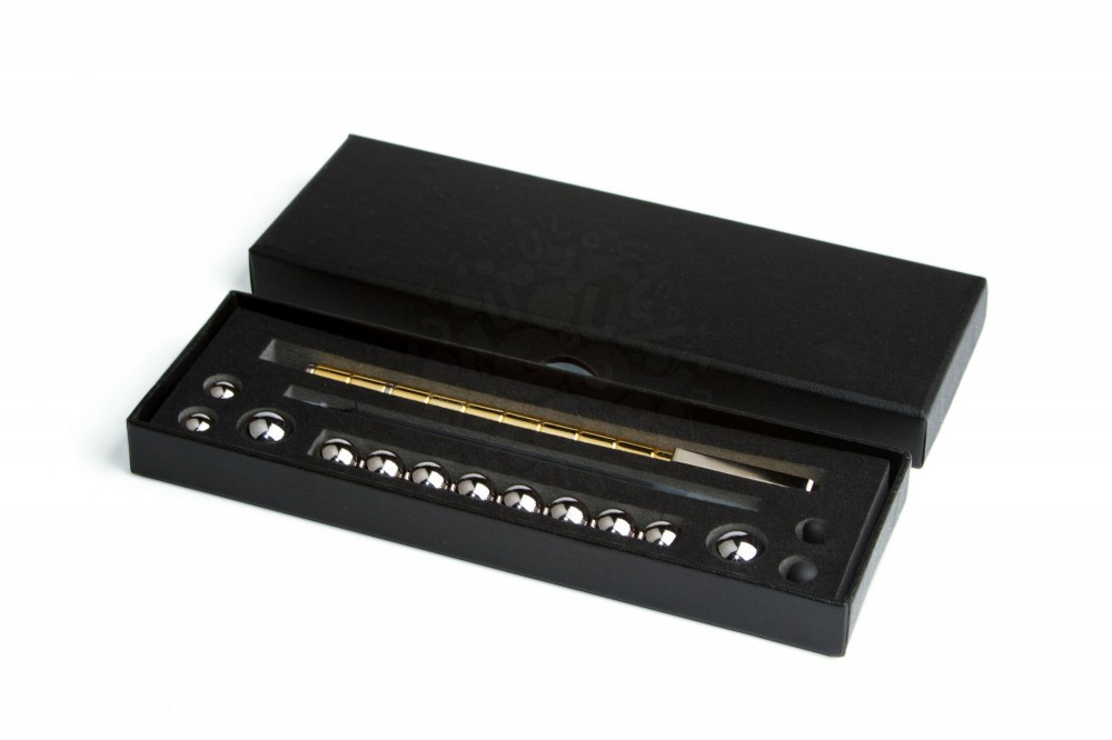 Магнитная ручка Polar Pen, золотая в Волгограде
