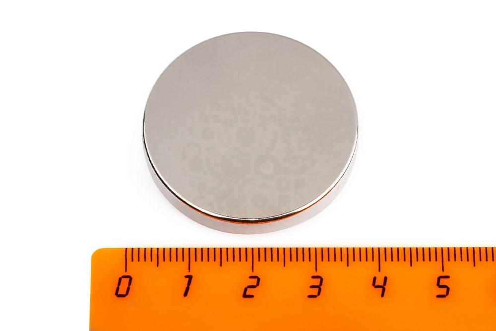 Неодимовый магнит диск 35х5 мм в Чебоксарах