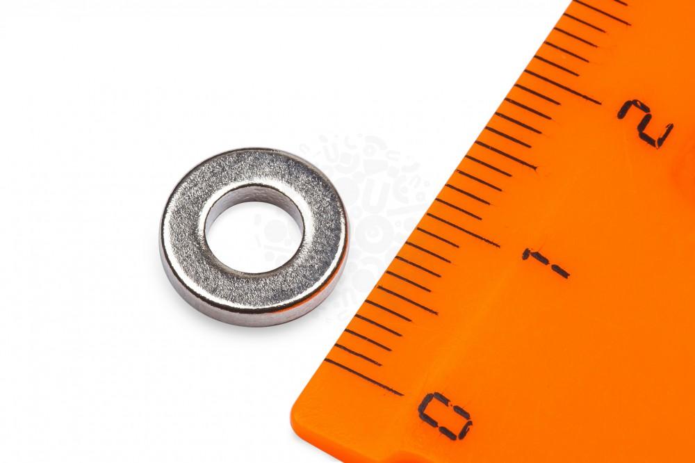Неодимовый магнит кольцо 10х5х2 мм в Екатеринбурге