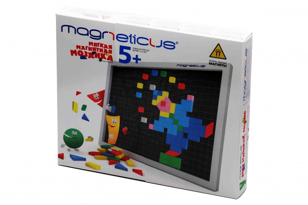 Конструкторы Мозаика Magneticus 5+ 220 элементов (7 цветов) в Саратове
