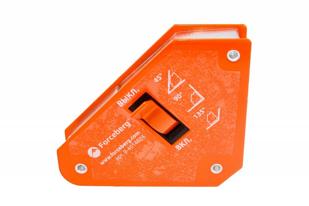 Магнитный уголок для сварки отключаемый для 3-х углов Forceberg, усилие до 13 кг в Симферополе