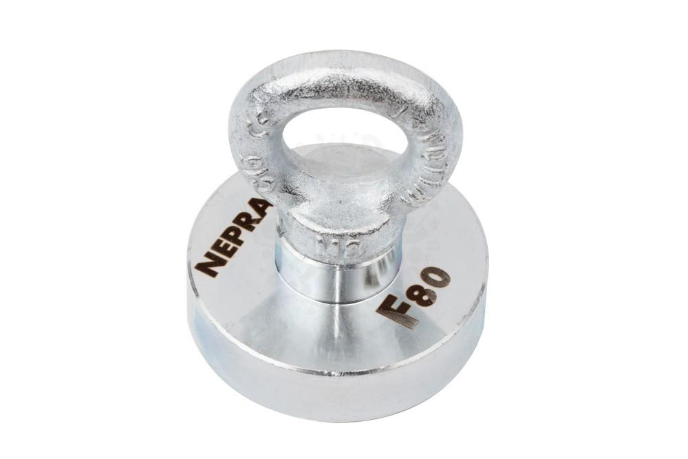 Поисковый магнит односторонний Непра F80 сила сц 80 кг в Иваново