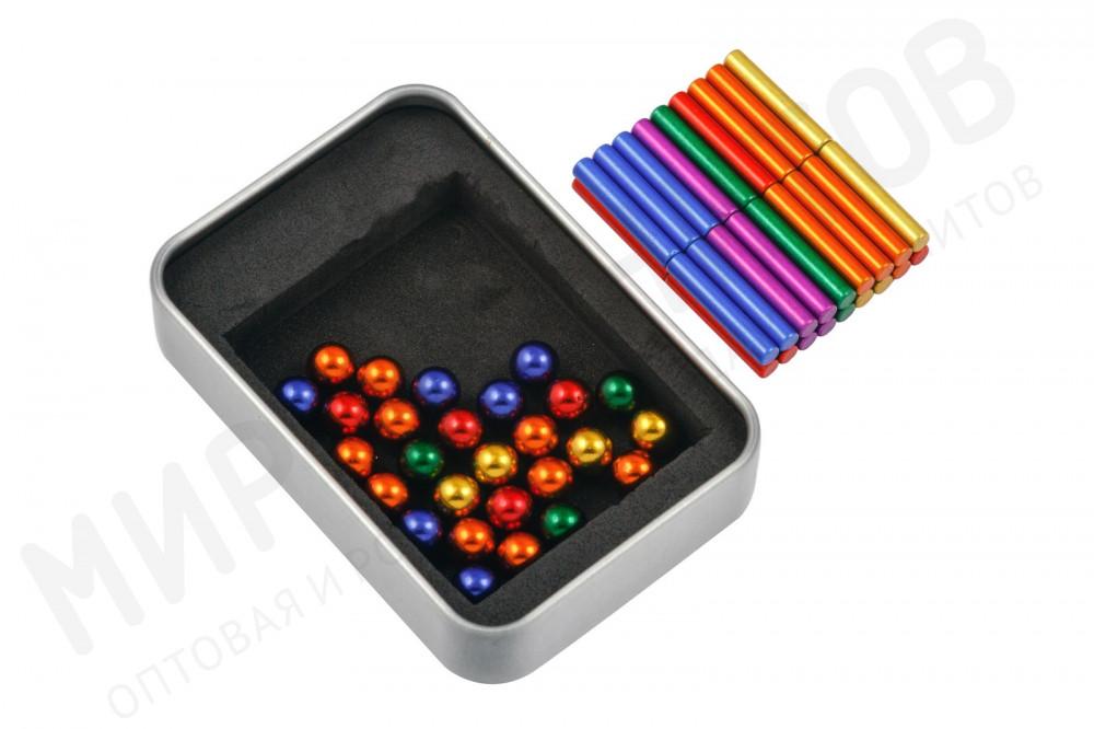 Магнитный конструктор-головоломка Forceberg, цветной в Твери