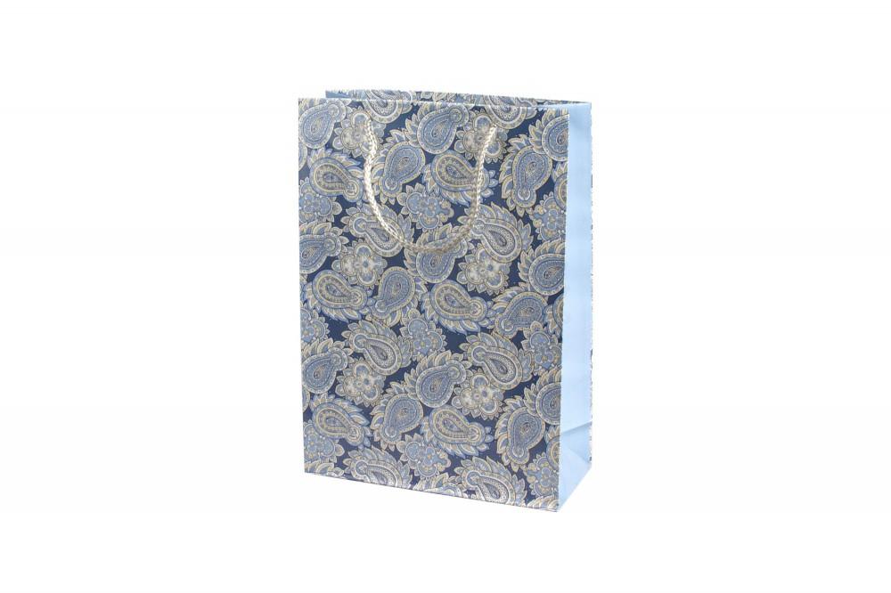 Подарочный пакет с орнаментом 22х31х9 см в Чебоксарах