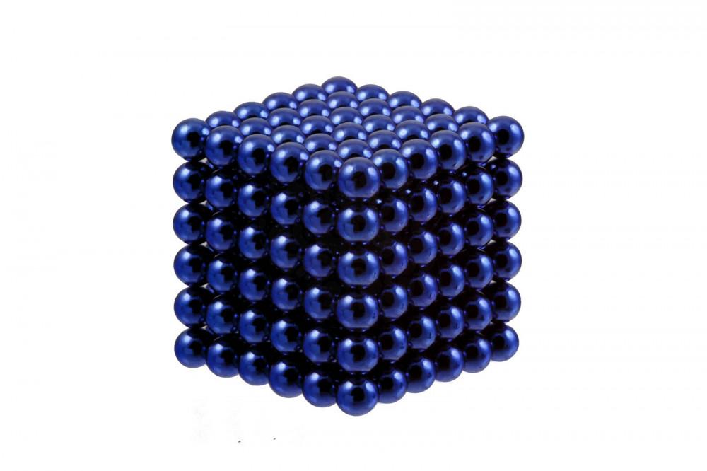Forceberg Cube - куб из магнитных шариков 6 мм, синий, 216 элементов в Смоленске