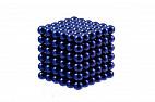 Forceberg Cube - куб из магнитных шариков 6 мм, синий, 216 элементов