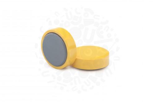 Магнит для досок, D30(жёлтый) в Воронеже