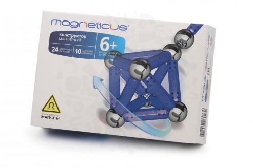 Конструктор Magneticus 34 элемента (синий) в Уфе