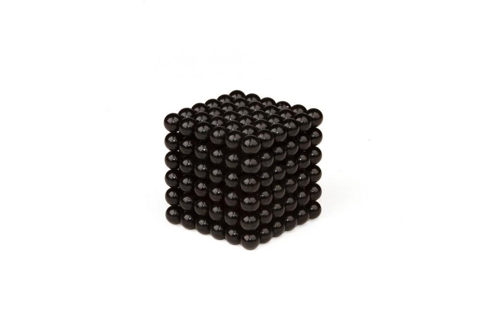 Forceberg Cube - куб из магнитных шариков 7 мм, черный, 216 элементов в Ставрополе