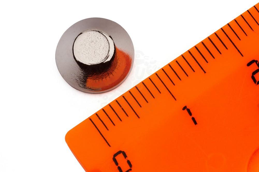 Неодимовый магнит конус 10/5х4 мм в Саратове