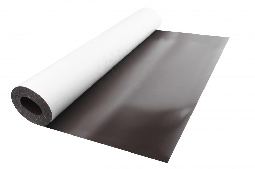 Магнитный винил с клеевым слоем, лист 0.62х5 м, толщина 0.7 мм в Самаре